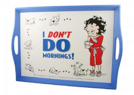 Lap Tray, I Don't Do Mornings, Betty Boop